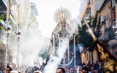 Gloria a la Virgen del Rosario en un Rosario de la Aurora histórico