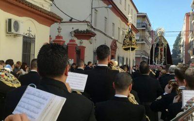 La Banda del Rosario brilló con luz propia tras su Titular