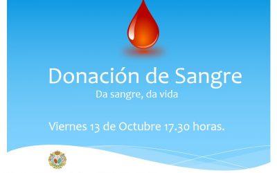 Hoy Donación de Sangre en nuestra Casa de Hermandad