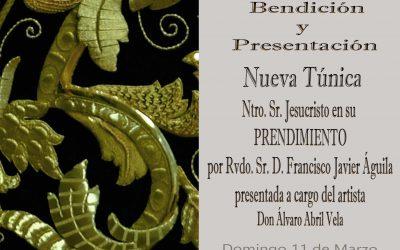 Mañana Presentación nueva Túnica bordada y Misa Mensual de Hermandad