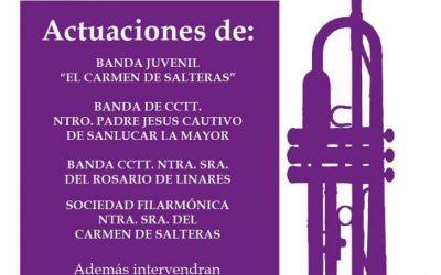 Mañana la Banda del Rosario junto a la Filarmónica del Carmen de Salteras