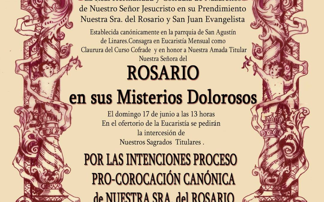 Eucaristía Mensual y por las Intenciones del Proceso de pro-Coronación Canónica