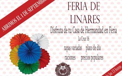 Se amplía al 1 de septiembre la apertura de Feria en la Casa de Hermandad