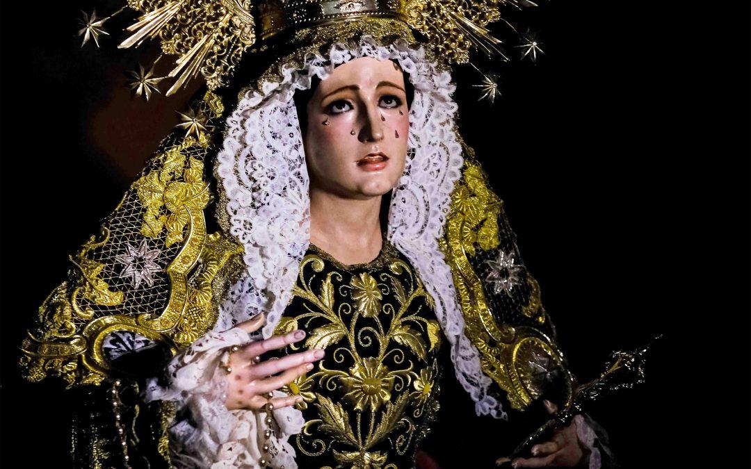 El Cartel de Octubre anuncia el Mes de la Virgen del Rosario