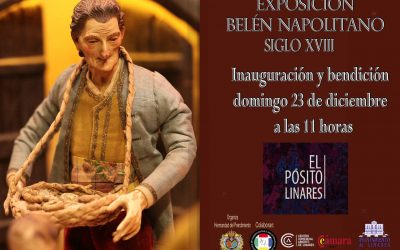 Inauguración del Belén Napolitano mañana a las 11 horas