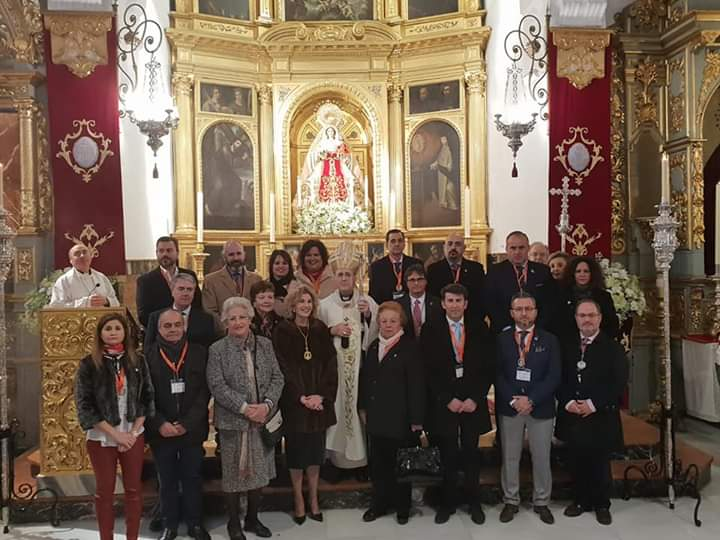 Presencia de nuestros hermanos en el XX Encuentro de Hermandades del Rosario (incluye galería)