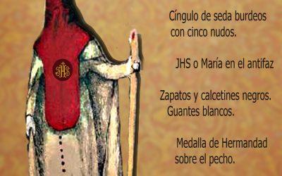 La uniformidad del hábito de nazareno para este próximo Jueves Santo