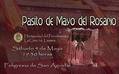 El Pasito de Mayo del Rosario procesionará mañana