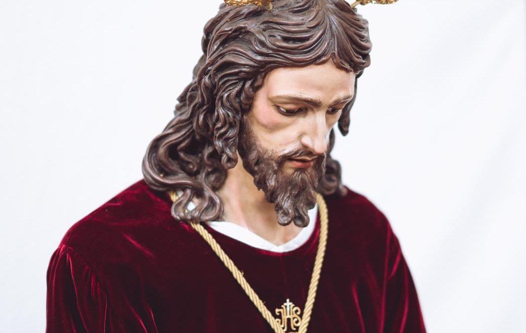 El Señor del Prendimiento ataviado para la Solemnidad del Corpus Christi