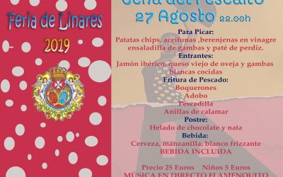 """""""La Cena del Pescaíto"""" abrirá la Feria 2019 en la Casa de Hermandad"""