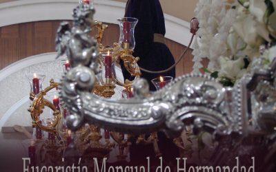 Eucaristía Mensual de Hermandad este próximo domingo a las 11.30 horas