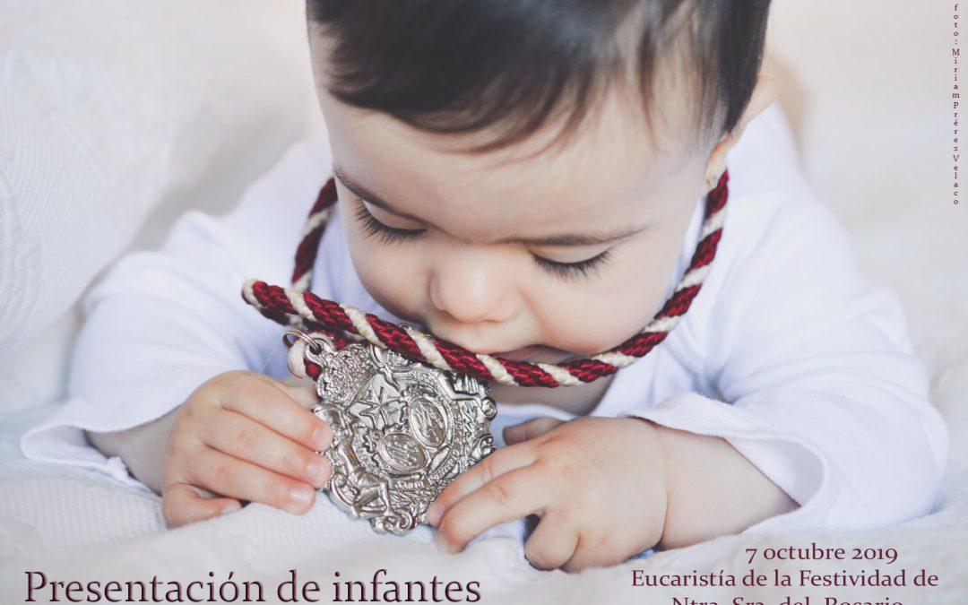 Presentación de Niños a la Virgen del Rosario en su Festividad