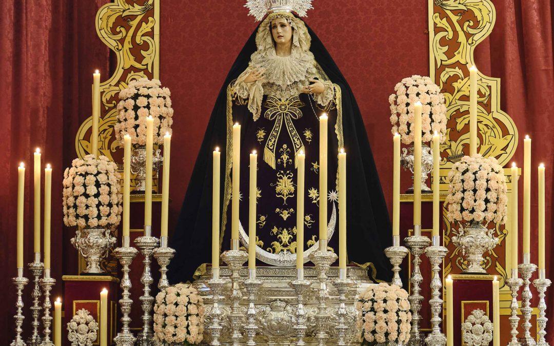 Ha comenzado el Triduo a Ntra. Sra. del Rosario en sus Misterios Dolorosos (incluye galería)