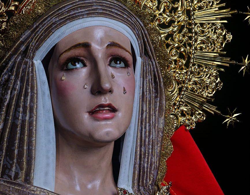 Nuestras Sagradas Imágenes Titulares ataviadas para la celebración de la festividad de la Candelaria
