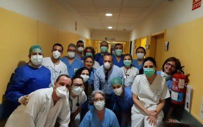 Tentempié para el Servicio de Urgencias del Hospital San Agustín