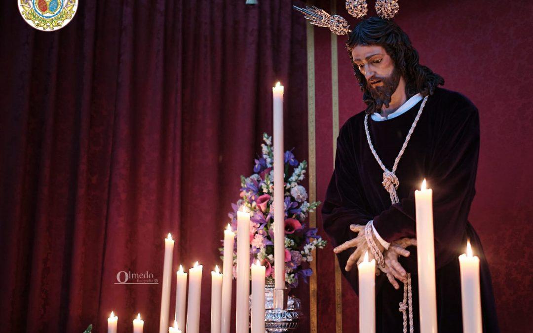 Quinario y Besapiés de Ntro. Sr. Jesucristo en su Prendimiento