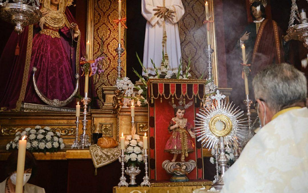 Celebración de la Solemnidad del Corpus Christi en nuestra Parroquia