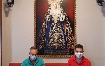 Renovación de la A.M. «Pedro Morales» de Lopera para el palio de la Virgen de Rosario.