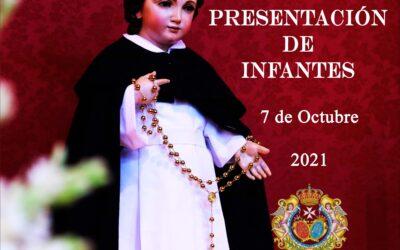 Presentación de Infantes el próximo 7 de Octubre